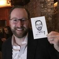 caricature marketing event