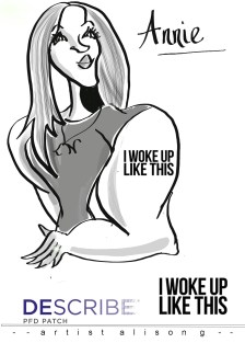 Ipad caricature