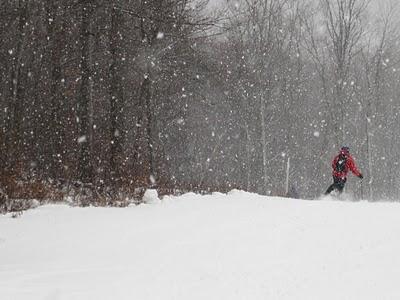 opening the 2010 ski season at Gore