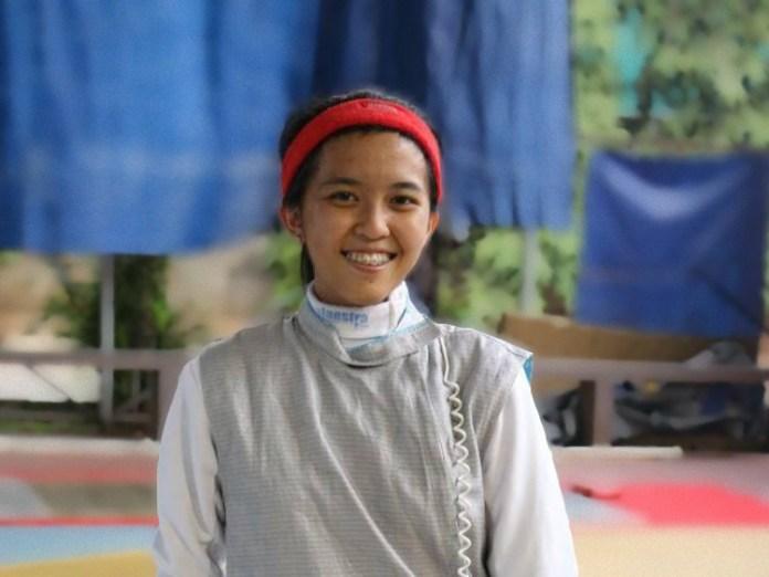 Nanette, atlet Anggar yang sempat tidak kebagian kostum