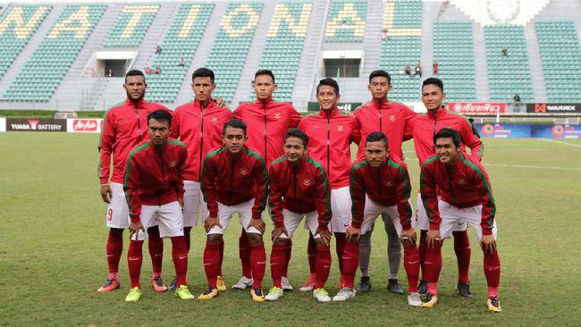 Timnas Indonesia U-22. Foto: cnnindonesia.com
