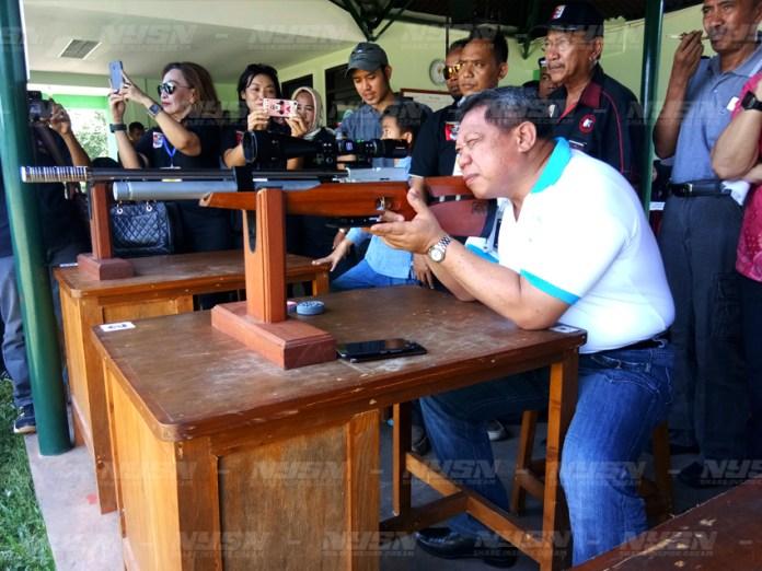 Deputi Bidang Pencegahan BNN Irjen Pol Ali Johardi, saat meresmikan Open Tournament ASC ke-2.