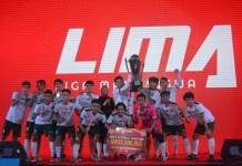 STIE BP berhasil menjadi juara di LIMA Futsal Nationals 2017