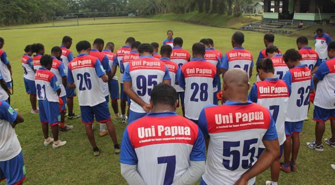 Uni Papua Football Community. Foto : Doc. Uni Papua