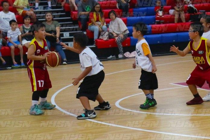 Warriors berhadapan dengan Cakra Sakti Di Hari Kedua Jetz Junior Basketball Champhionship (JJBC) (10/12/17)