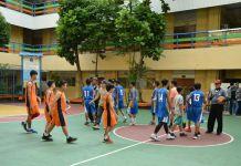 21 Tim Basket SMP meramaikan kompetisi basket BRC 2018, di SMK Yadika 2, Tanjung Duren Utara, Jakarta Barat. (Adt/NYSN)