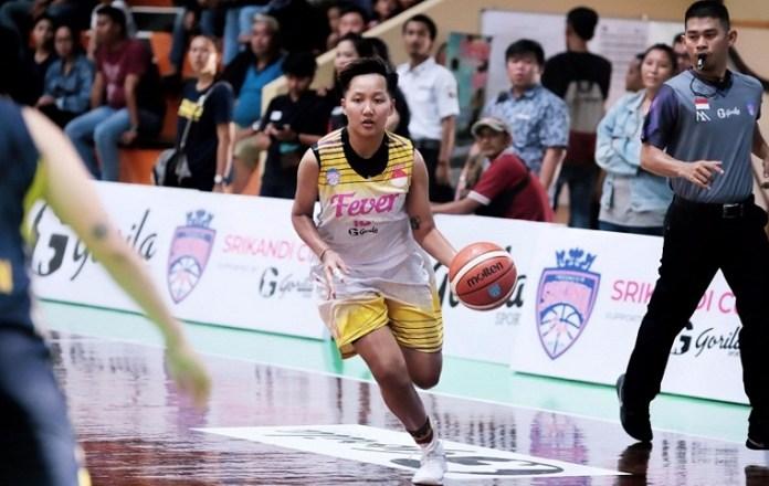 Natasha D.C top skor kemenangan Surabaya Fever atas Tenaga Baru Pontianak dengan 26 poin, 7 rebound, 3 assist dan 4 steal. (meilinda)