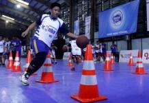 Sejumlah anak mengikuti selection camp Jr. NBA Indonesia pada 2017 lalu. (kompas.com)