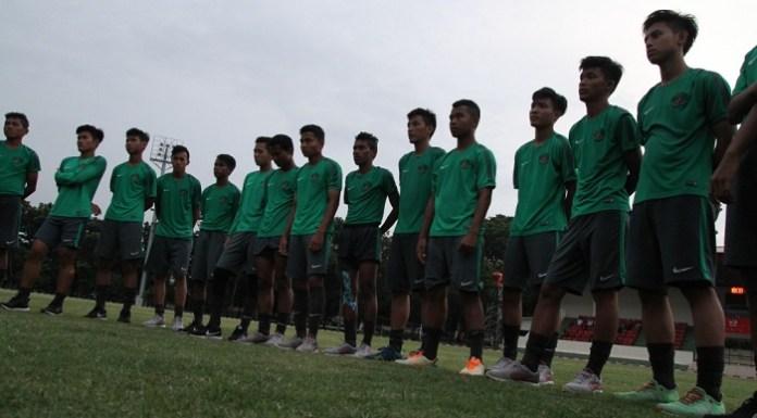 Timnas U-16 mencoret satu pemain jelang mengikuti turnamen di Jepang. (PSSI.org)