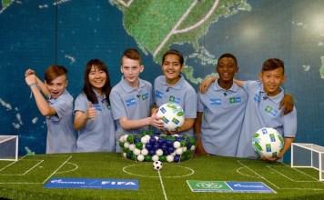 Football for Friendship (F4F) International Children`s Social Project keenam yang digelar pada 8-15 Juni 2018, di Moskow, Rusia. (hargo.net)