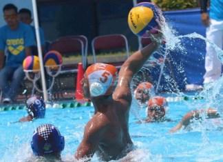 PB PRSI membuat terobosan dengan mengadakan pertandingan cabor Polo Air U-12 dalam LISCA (League of Inter School dan Collegiate Aquatic) di UPH. (viva.co.id)