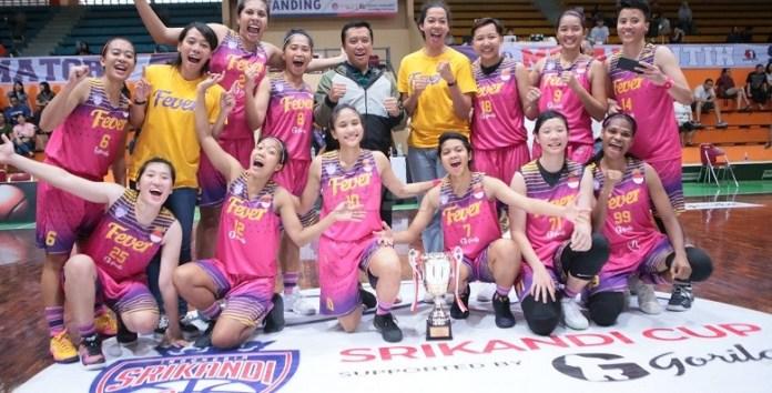 Surabaya Fever menunjukkan kekuatannya sebagai tim terbaik putri saat ini da menjadi juara Srikandi Cup 2017-2018. (srikandicup.com)