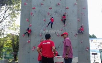 Timnas Panjat Tebing Indonesia akan segera melakukan training camp (TC) di dua negara yakni Rusia dan China. (viva.co.id)