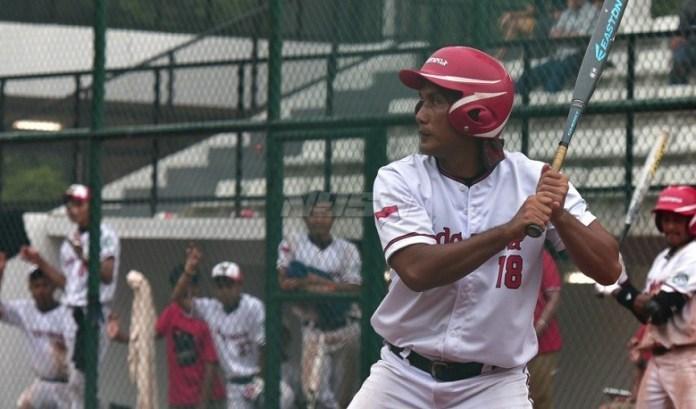 Timnas sofbol putra Indonesia gagal tampil di babak Grand pada Asian Men's Softball Championship 2018, usai takluk dari Singapura 3-10. (akurat.co)
