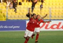 Dua Gol Firanda (8), sukses taklukkan Kamboja U-16,, dan menjaga peluang Timnas Putri U-16 maju ke Semifinal AFF U-16 Girls Championship 2018. (net)