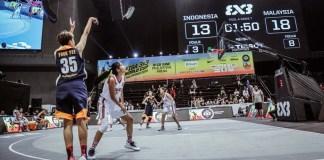 Fanny Kalumata (putih) dkk wajib menang saat berjumpa Italia dan Turkmenistan, jika ingin lolos ke babak selanjutnya di FIBA 3X3 World Cup 2018, di Manila, Filipina. (FIBA 3X3).