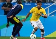 Striker Brasil berusia 21 tahun, Gabriel Jesus (11), menjadi kandidat kuat salah satu pemain meraih gelar pemain muda terbaik di Piala Dunia 2018. (thesun.co.uk)