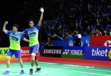 Sabet gelar juara Blibli Indonesia Open 2018 HSBC BWF World Tour Super 1000, jadi peforma Tontowi Ahmad/Liliyana Natsir yang terakhir di event bergensi ini. (Pras/NYSN)