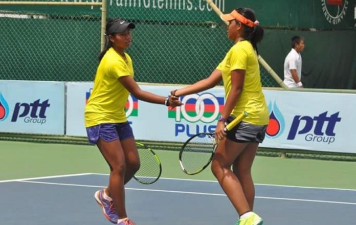 Duet petenis muda, Fitriana Sabrina/Fitriani Sabatini (17 tahun) tumbangkan unggulan ketiga Women's Circuit 2018, Zhibek Kulambayeva (Kazakhstan) dan Ye Zhin Ma (Tiongkok), dengan skor akhir 6-3 6-3. (remaja-tenis.com)