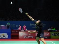 Pebulutangkis tunggal putri Indonesia Gregoria Mariska Tunjung berhasil melaju ke babak berikutnya setelah mengalahkan Lee Chia Hsin dari Taipei pada Blibli Indonesia Open 2018 dengan skor 21-13, 22-7 (Prass/NYSN)