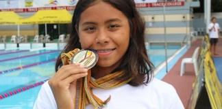 Azzahra Permatahani (16 tahun) menjadi atlet andalan tim renang Indonesia pada ASEAN School Games (ASG) 2018 di Selangor, Malaysia, 21-26 Juli. (twitter.com)