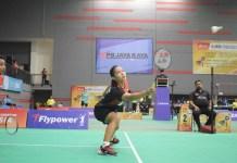 Ganda campuran Rehan Naufal Kusharjanto/Siti Fadia Silva Ramadhanti takluk dari pasangan Hiroki Midorikawa/Natsu Saito 13-21, 21-12, 17-21, dalam laga penyisihan grup D nomor beregu Asia Junior Championship 2018. (Ham/NYSN)