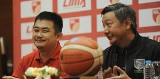 Ryan Gozali, CEO Liga Mahasiswa (kiri) dan Hasan Gozali, Direktur IBL, kini bersinergi menjaring mahasiswa atlet berprestasi guna berkarir menjadi pebasket profesional mulai musim 2018/2019. (Pras/NYSN)