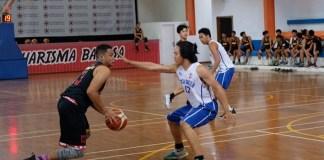 Tim basket putra Sekolah Kharisma Bangsa percaya diri dan siap berlaga di kejuaraan dunia antar Sekolah Menengah Atas (SMA), di Paris, Perancis. (Adt/NYSN)