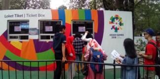 Kacaunya proses penjualan tiket online Asian Games 2018 di KiosTiX, membuat Panitia Penyelenggara Asian Games 2018 Indonesia (INASGOC) mengambil tindakan cepat, dan mengalihkannya ke situs e-commerce Blibli.com. (Alinea.id)