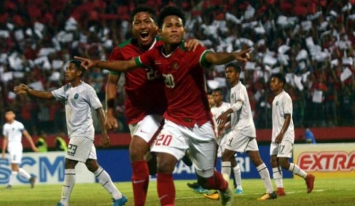 Amiruddin Bagus Kahfi (20), kembali memimpin daftar top skor atau pencetak gol terbanyak sementara Piala AFF U-16 2018, dengan total raihan delapan gol. (tribunnews.com)