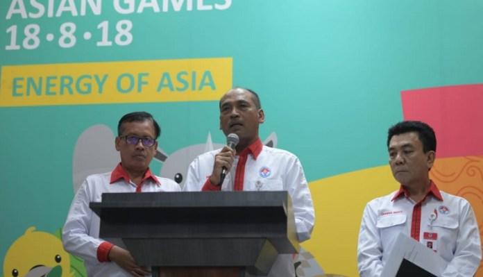 Mulyana (Deputi IV Peningkatan Prestasi Kemenpora) menyebut pemerintah tela menggelontorkan dana Rp 26,77 miliar sebagai kontribusi untuk PSSI. (Kemenpora)