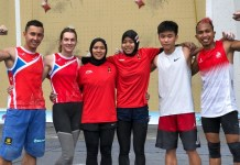 Indonesia meraih satu medali emas, yang dihasilkan Aries Susanti Rahayu, dan dua perak dalam kejuaraan International Climbing Elite Tournament, di Anshun, China, 21-22 September 2018. (FPTI)