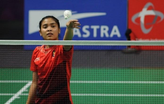 Tunggal putri Indonesia 19 tahun berperingkat 15 versi BWF, Gregoria Mariska Tunjung, ditargetkan PP PBSI tembus hingga peringkat 10 besar dunia dan meraih juara pada turnamen Super 1000 pada 2019. (Pras/NYSN)