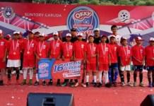 Sebanyak 16 pemain muda terbaik Indonesia hasil turnamen National Championship Okky Splash Youth Soccer League (OYSC) U-12 2018, akan mengikuti turnamen bertajuk Singa Cup U-12 2018, di Singapura, dalam waktu dekat. (bolasport.com)