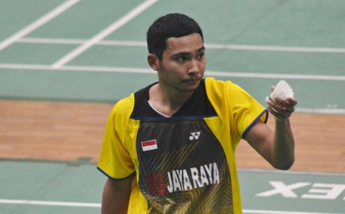 Dominasi Karono, pebulutangkis tunggal unggulan satu asal PB Jaya Raya Jakarta, masih belum terbendung di ajang Sirkuit Nasional (Sirnas) Premier Jakarta Open 2018, Kategori Usia 19 Tahun (U19). (jayaraya.org)