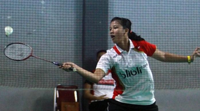 Aisha Galuh Maheswari menjadi pahlawan PB Djarum Kudus Tim pUtri U-17, karena berhasil meraih kemenangan di partai penentu, setelah menang atas Imtyaz Yasmin, 21-14, 19-21, 21-18. (PB Djarum)