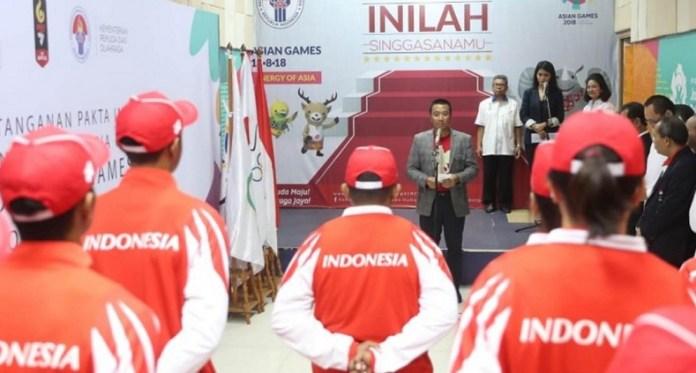 Kontingen Indonesia mengirimkan 17 atlet untuk berpartisipasi pada 8 cabor, pada ajang Summer Youth Olympic Games atau Olimpiade Remaja Musim Panas 2018, dihelat di Buenos Aires, Argentina, 6-18 Oktober mendatang. (Kemenpora)