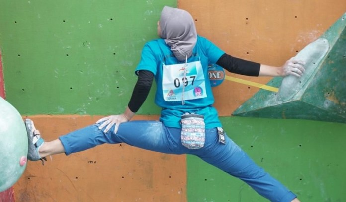 Sebanyak 211 atlet siap memanaskan Kejurnas Panjat Tebing XVII di Solo Sport Climbing Center, Kompleks Stadion Manahan Solo, Jawa Tengah, yang mulai dihelat pada Rabu (27/11). Mereka juga akan berebut tiket Olimpiade 2020 Tokyo, Jepang. (Dok. Humas FPTI)