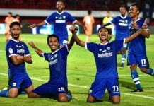 Persib Bandung U-19 menjadi juara Liga 1 U-19 2018. Di laga final yang berlangsung di Stadion Kapten I Wayan Dipta, Gianyar, Bali, pada Senin (26/11), mereka mengalahkan Persija Jakarta U-19 dengan skor 1-0, lewat gol semata wayang sang Winger, Ilham Qolba Rizky Wiguna. (Persib.co.id)