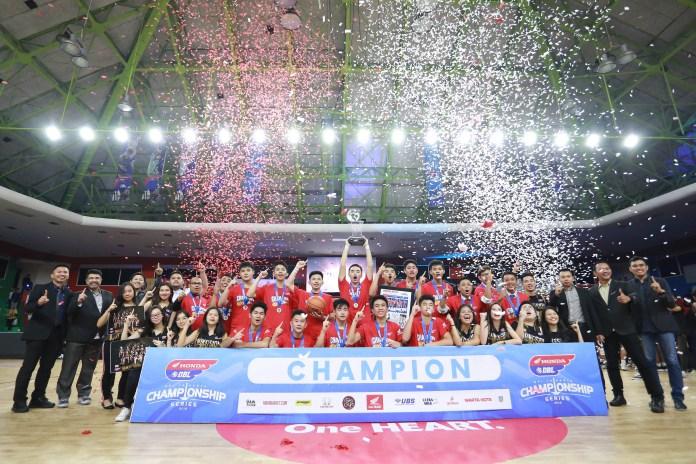 Champion Honda DBL Jakarta Series