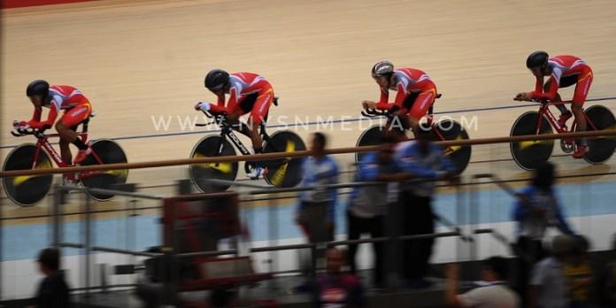 Dalam Asian Track Championship (ATC) 2019 yang diikuti 16 negara, di Jakarta International Velodrom (JIV), Jakarta Timur, Merah Putih finis pada urutan ke-11 di kategori able alias normal. Sementara dari kategori paracycling atau balap sepeda disabilitas, Indonesia finis di urutan tiga dari enam negara yang berpartisipasi. (Pras/NYSN)