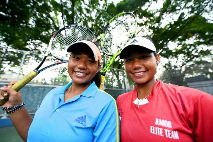 Si kembar Ana dan Ani menjadi andalan Indonesia di ASG 2019, di Semarang, Jawa Tengah. (Kemenpora)