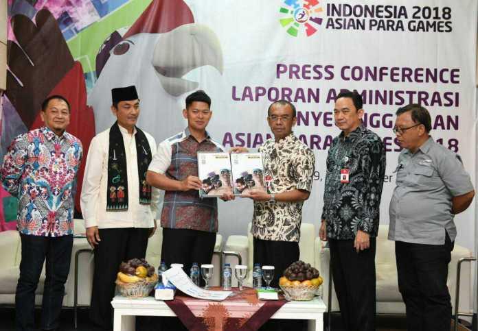 Kemenpora resmi menerima laporan APG 2018. (Kemenpora)