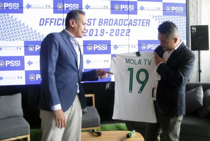 PSSI Gandeng Mola TV