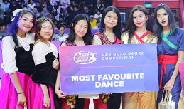 MOST FAVORITE DANCE (SMAN 71 JAKARTA, SMA SANTA URSULA DAN SMA CITA BUANA) - UBS GOLD DANCE COMPETITION