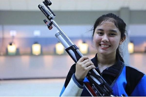Vidya Rafika, Penembak 18 tahun yang lolos Olimpiade Tokyo 2020
