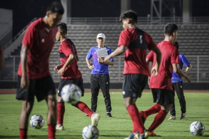 Shin Tae-yong Mengaku Puas Dengan Hasil Latihan Anak Asuhnya
