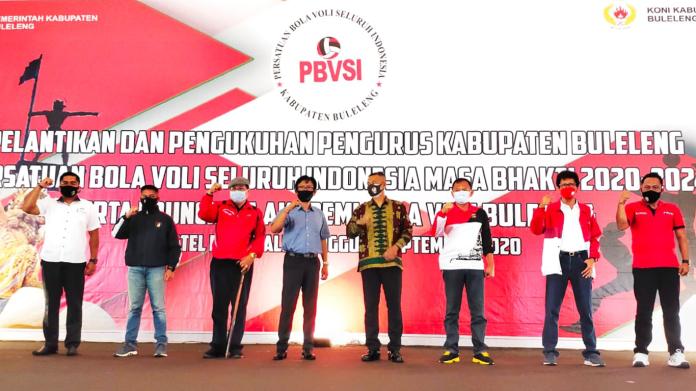 Baru Diresmikan, Akademi Bola Voli Buleleng Dibanjiri Pendaftar
