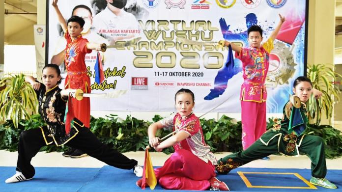 Jaring Atlet Junior Terbaik, PB Wushu Indonesia Kembali Siapkan Kejuaraan Virtual