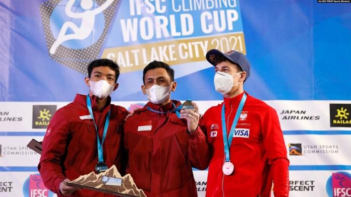 Usai Sukses Pecahkan Rekor Dunia, Veddriq dan Katibin Bidik Juara di Olimpiade 2024